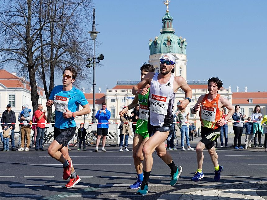 Patrick Lange runs at the GENERALI BERLIN HALF MARATHON on April 7th, 2019