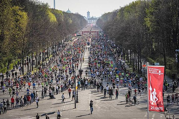 Registration for the GENERALI BERLIN HALF MARATHON 2021 has opened