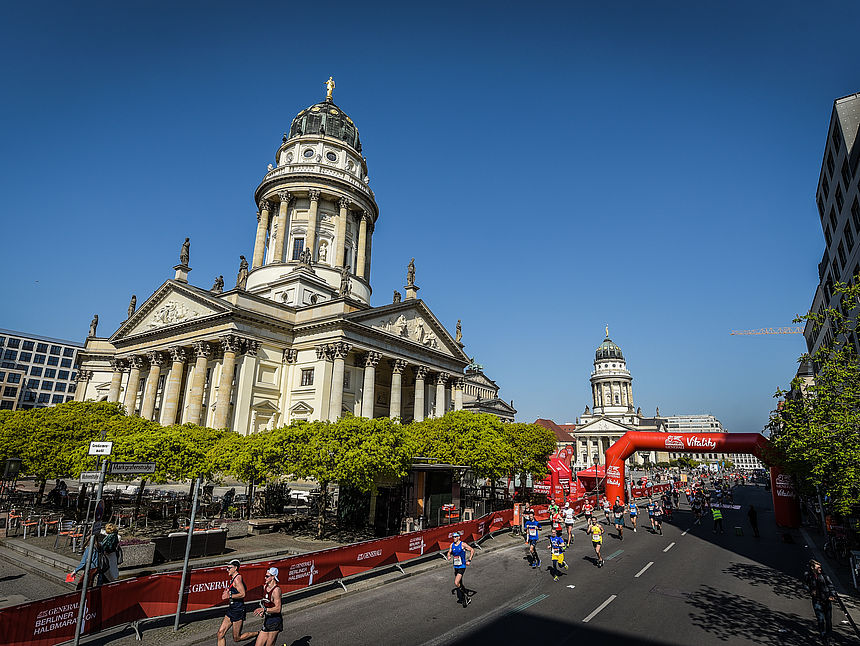 New route at the GENERALI BERLIN HALF MARATHON 2019