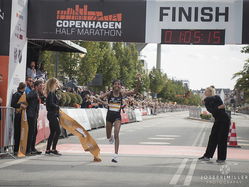 Sifan Hassan, the winner of the Copenhagen Half Marathon will run the GENERALI BERLIN HALF MARATHON 2019