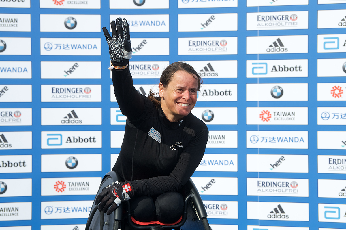 Sandra Graf (SUI) wants to defend her podium finish from last year at the 2018 BMW BERLIN-MARATHON.
